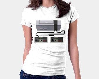 Game On Shirt  - Retro Gaming Shirt, Video Game TShirt, T-shirt for Women Men, 8 Bit, Old School, Pop Culture, Nintendo,