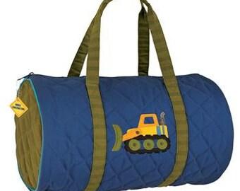 Personalized Stephen Joseph Construction Duffe Bag