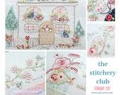 The Stitchery Club FEBRUARY 2017