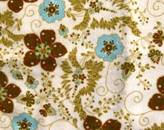 1/2 yard of premium flannel fabric.  (140FH)
