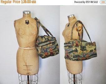 50% OFF Weekender Tapestry Bag / Travel luggage / GOLF novelty print