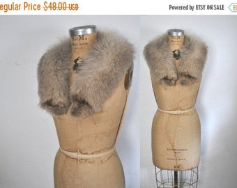 25% OFF Genuine Fox Fur Collar / bridal wedding