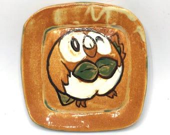 Mini Rowlet Ceramic Dish