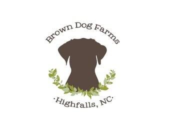 Custom Logo Design Branding, Custom Business Logo Design, Custom Logo Illustration, Logo Design, Custom Logo, Dog Logo