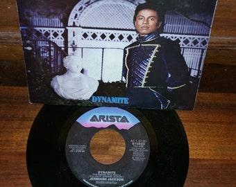 Jermaine Jackson Dynamite 45 RPM Record