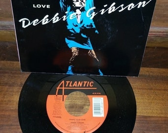 Debbie Gibson Shake Your Love Vintage 45 RPM Record Maxi Single