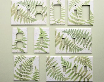 Northwood Fern Light Switch Cover Switchplate
