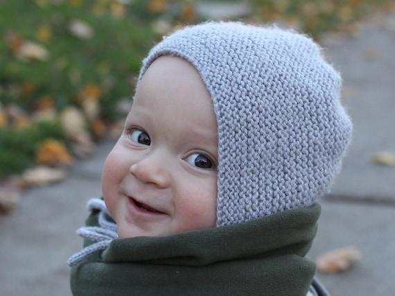 Baby Bonnet Knitting Pattern Baby Hat Knitting Pattern Easy