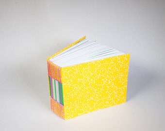 Bitty Mini Blank Book with a Page for Every Day of the Year that is full of Bright Sunshine and Growth