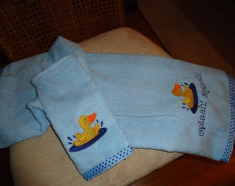 Baby Towel and Wash Cloth