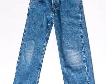30% off SPRING SALE The Vintage Wash Indigo Levi Strauss 569 Jeans - WAIST 25