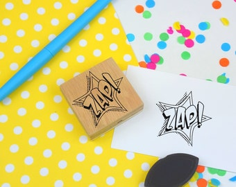ZAP! Stamp - Comic Book Style