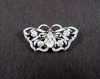 1940s Butterfly brooch