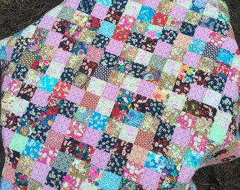 Liberty of London Scrap Quilt