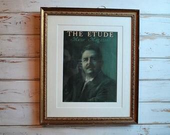Vintage Music Print, Vintage Music Magazine, Vintage Music, The Etude, Victor Herbert
