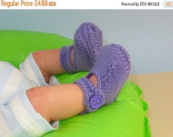 50% OFF SALE Instant Digital File PDF Download knitting pattern - Baby Ankle Strap Sandals Booties (Bootees) Boots pdf download knitting pat