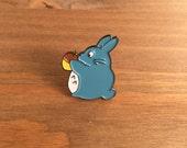 "Enamel Pin, Lil' Totoro, 1"" inch, Lapel Pin, Tokidoki, Ghibli, Miyazaki"