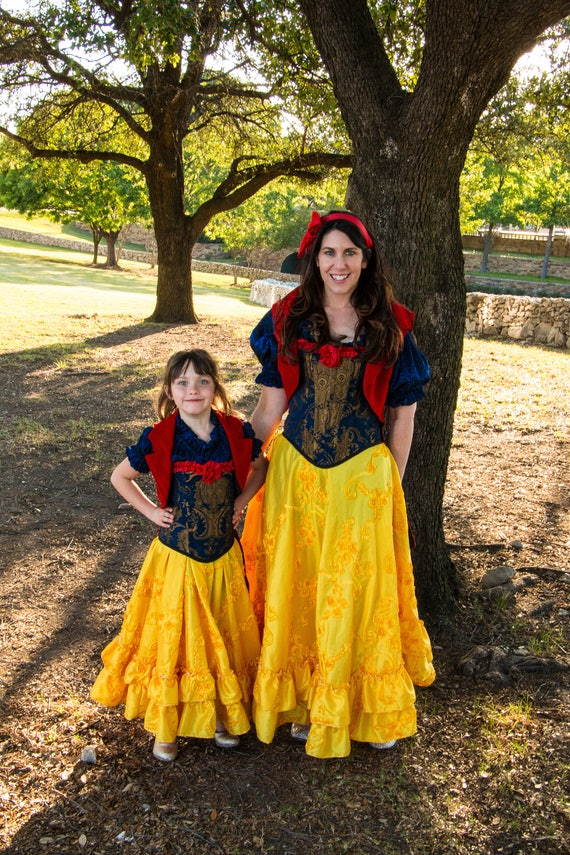 Steampunk Snow White Inspired Mommy and Me Costumes