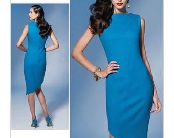 Vogue 1267  Close-Fitted Lined Dress Pattern American Designer Tom and Linda Platt  Size 16-18-20-22-24 New-Uncut