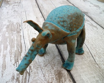 Bespoke ceramic animal, Hand-made in Yorkshire- Quirky stoneware pottery.