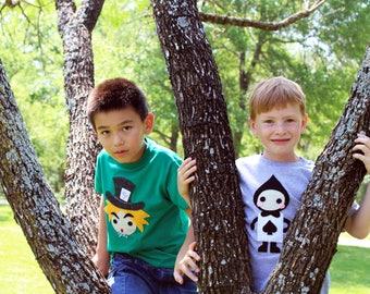 The Trumps - Spade - Alice's Adventure in Wonderland - Kids T-shirt - Gift