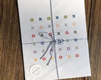 x's and o's... 8 x 10 print