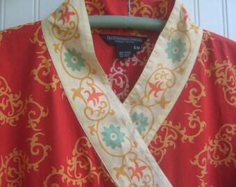 Vintage Caftan Boho Maxi Dress J. Peterman