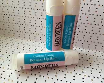 Cotton Candy Beeswax Lip Balm