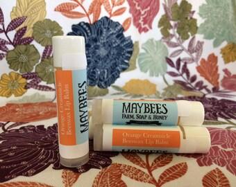 Orange Cream Beeswax Lip Balm