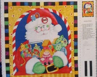 Santa Christmas Fabric Panel