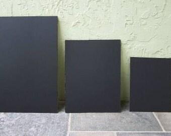 16 x 20 chalkboard, large chalk board, menu blackboard, unframed chalkboard ,weddings photo prop, sign kitchen ,wall black wood home
