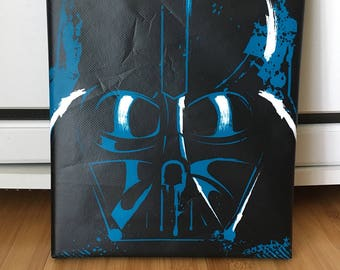 Star Wars Darth Vader Helmet Wall Art Canvas - 8x10