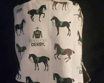 Women's Kentucky Derby scrub hat