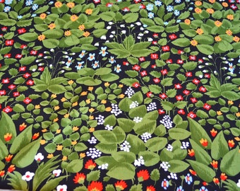 Vintage Fabric - Zumsteg Mille Fleurs - Medium Weight Floral Upholstery