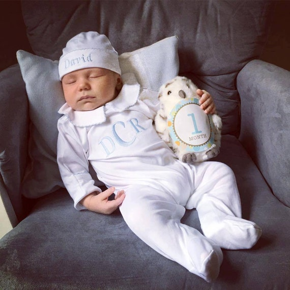 Baby Boy Coming Home Outfit Newborn Baby Boy ClothesPima