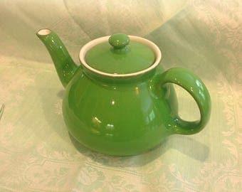 Vintage Hall Teapot Emerald Green