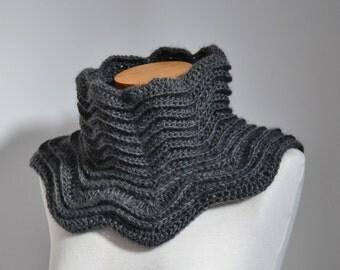 STAR, Crochet cowl pattern, pdf