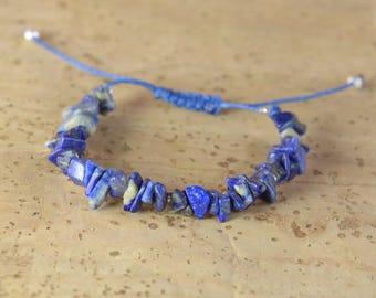 Gemstones chips bracelet