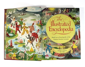 1959 - The Illustrated Encyclopedia by Grosset & Dunlap