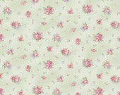 RURU Classic Library Collection  Cotton Fabric Quilt Gate RU2290-15C  Small Roses
