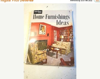 SALE VIntage 1950 Better Homes and Gardens Home Furnishings Ideas Magazine