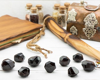 Faceted Garnet Gemstone - Stone of Wishes, Dreams & Protection