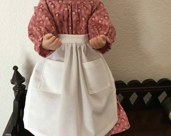 Prairie Dress with Apron for 16 inch doll
