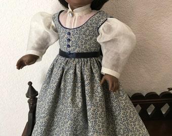 Little Women Style dress for 18 inch doll