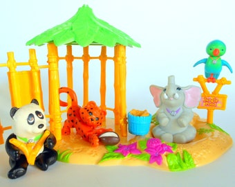 Vintage Littlest Pet Shop Zoo Jungle Bunch by Kenner 1993