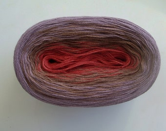 NOVEMBER II - Color Changing Cotton yarn - 480 yards/100 gr - Fingering Weight