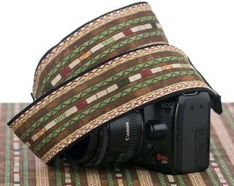 dSLR Camera Strap, Southwestern, Tribal, SLR, 204 w