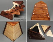 Geometric [Jewelry Box with Secret Compartment] and Weighted Base, The Trapezoid Box since 1994