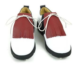 Golf Shoe Kilties, Golf Kilties, Golf Gifts for Men, Kiltie Fringe, Leather Fringe, Shoe Fringes, Kilties for Golf Shoes & Oxford Shoes