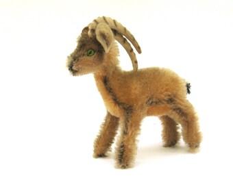 rocky   ...    vintage steiff mountain goat  ...  ram